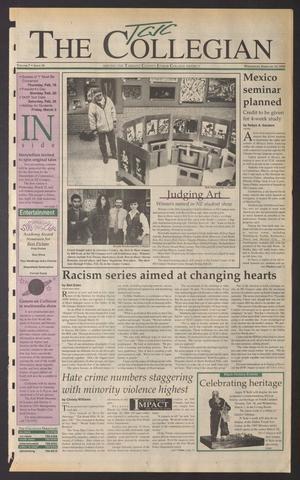 The Collegian (Hurst, Tex.), Vol. 7, No. 18, Ed. 1 Wednesday, February 15, 1995