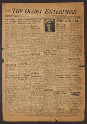 The Olney Enterprise (Olney, Tex.), Vol. 34, No. [21], Ed. 1 Friday, June 30, 1944