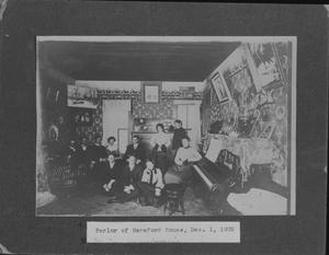 Primary view of object titled '[Photograph of the Hereford House]'.