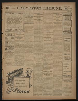 Primary view of Galveston Tribune. (Galveston, Tex.), Vol. 23, No. 107, Ed. 1 Saturday, March 28, 1903
