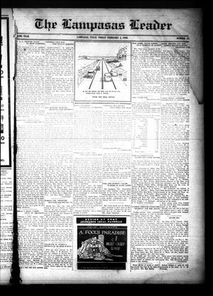 The Lampasas Leader (Lampasas, Tex.), Vol. 52, No. 17, Ed. 1 Friday, February 2, 1940