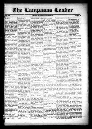 The Lampasas Leader (Lampasas, Tex.), Vol. 53, No. 13, Ed. 1 Friday, January 3, 1941