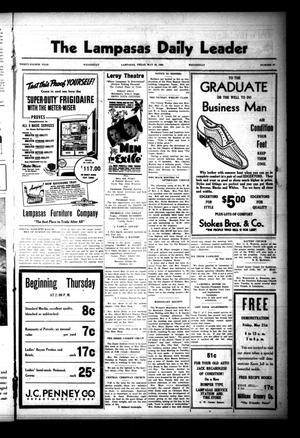 The Lampasas Daily Leader (Lampasas, Tex.), Vol. 34, No. 63, Ed. 1 Wednesday, May 19, 1937