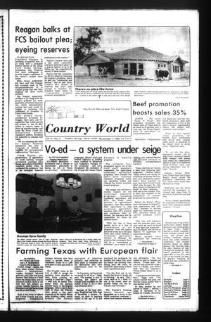 Country World (Sulphur Springs, Tex.), Vol. 5, No. 2, Ed. 1 Thursday, November 7, 1985