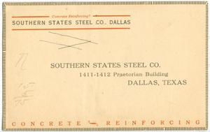 Primary view of object titled '[Back of a Postcard]'.