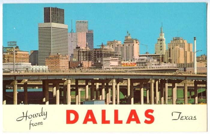 dallas skyline the portal to texas history