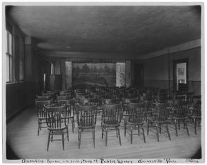 Primary view of object titled '[Assembly Room]'.