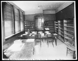 Primary view of object titled '[Negro Reading Room]'.