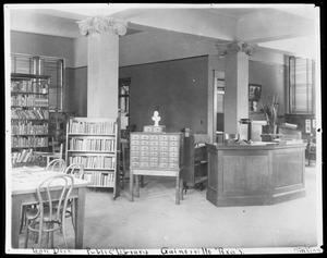 Primary view of object titled '[Loan Desk]'.