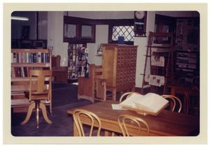 Primary view of object titled '[Interior View of Carnegie Library]'.