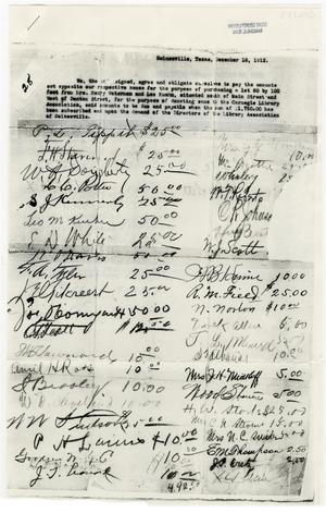 Primary view of object titled '[Document of Payment Obligations]'.