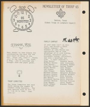 65 Minutes, October-December, 1989