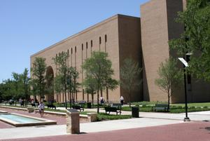 [Exterior View of Willis Library]