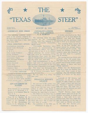 The Texas Steer (U. S. S. Texas), Vol. 7, No. 12, Ed. 1 Saturday, August 22, 1936