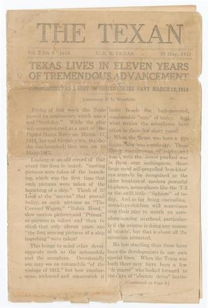 The Texan (U. S. S. Texas), Vol. 2, No. 8, Ed. 1 Monday, May 28, 1923