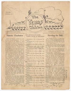 The Texas Wahoo (U. S. S. Texas), Vol. 1, No. 16, Ed. 1 Saturday, September 29, 1928