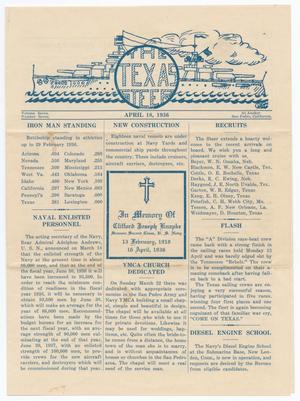 The Texas Steer (U. S. S. Texas), Vol. 7, No. 7, Ed. 1 Saturday, April 18, 1936