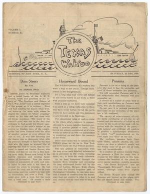 The Texas Wahoo (U. S. S. Texas), Vol. 1, No. 11, Ed. 1 Saturday, June 23, 1928