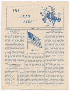 The Texas Steer (U. S. S. Texas), Vol. 7, No. 10, Ed. 1 Saturday, July 4, 1936