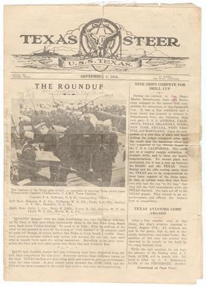 The Texas Steer (U. S. S. Texas), Vol. 6, No. 7, Ed. 1 Saturday, September 7, 1935
