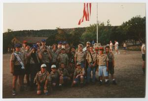 [Boy Scouts Posing for a Group Picture]