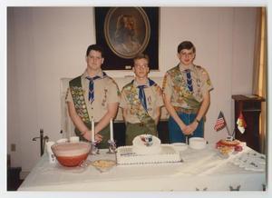 [Scott Thomas at His Eagle Scout Celebration]