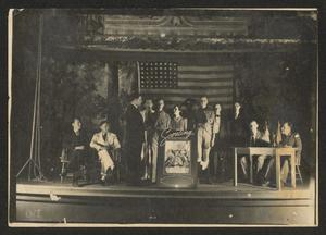 Primary view of object titled '[Boy Scout Award Ceremony]'.