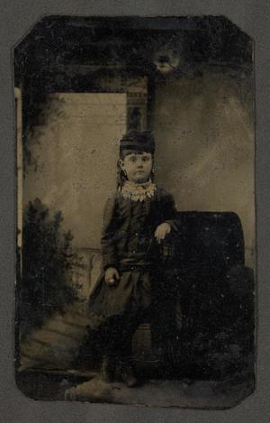 Primary view of [Six-Year-Old Maude Kitchens]