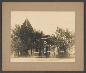 Photograph of the First Presbyterian Church of Waco