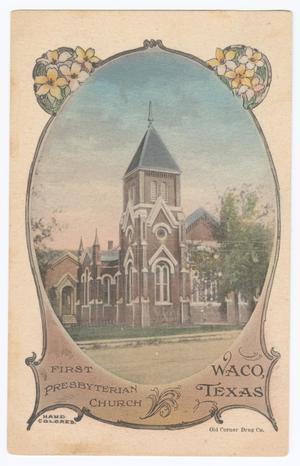 Postcard of the First Presbyterian Church of Waco