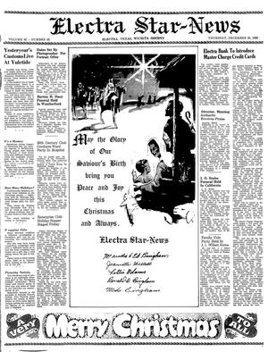 Primary view of object titled 'Electra Star-News (Electra, Tex.), Vol. 62, No. 20, Ed. 1 Thursday, December 25, 1969'.