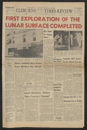 Cleburne Times-Review (Cleburne, Tex.), Vol. 64, No. 224, Ed. 1 Monday, July 21, 1969