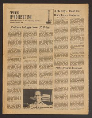 Primary view of object titled 'The Forum (Irving, Tex.), Ed. 1 Thursday, March 4, 1976'.