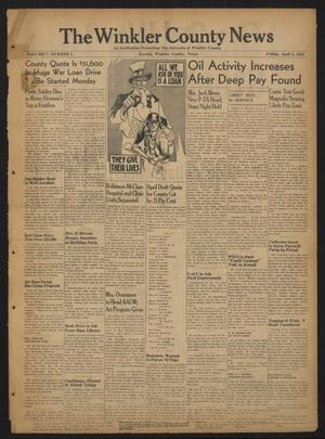 The Winkler County News (Kermit, Tex.), Vol. 7, No. 2, Ed. 1 Friday, April 9, 1943