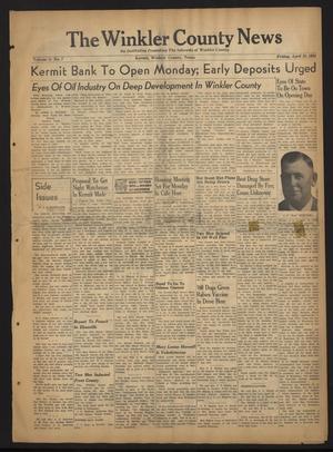 The Winkler County News (Kermit, Tex.), Vol. 8, No. 7, Ed. 1 Friday, April 28, 1944