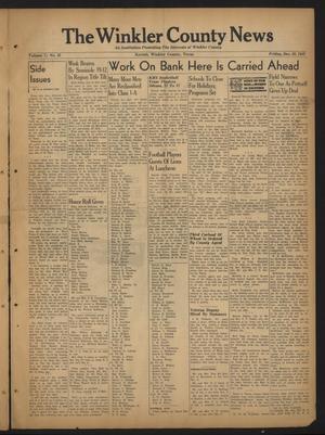 The Winkler County News (Kermit, Tex.), Vol. 7, No. 35, Ed. 1 Friday, December 10, 1943
