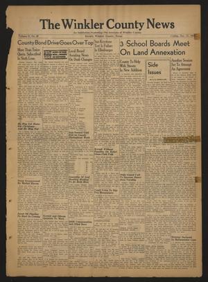 The Winkler County News (Kermit, Tex.), Vol. 8, No. 40, Ed. 1 Friday, December 15, 1944