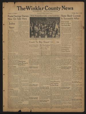 The Winkler County News (Kermit, Tex.), Vol. 6, No. 7, Ed. 1 Friday, May 2, 1941