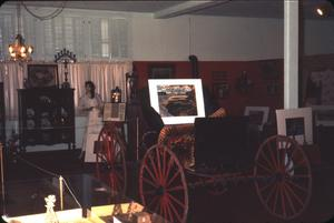 Primary view of object titled '[Interior of the Deaf Smith County Museum]'.