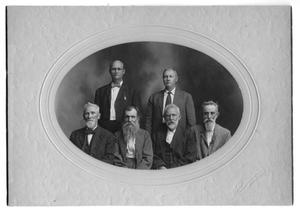Primary view of object titled 'Former Sheriffs of Denton County'.