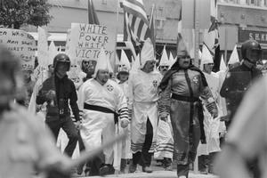 [KKK Members Walking in Rally, Number 1]