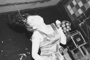 [Kathleen Hanna Dancing During Bikini Kill Performance]
