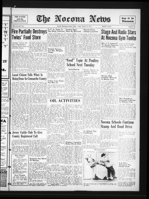 Primary view of The Nocona News (Nocona, Tex.), Vol. 37, No. 36, Ed. 1 Friday, March 13, 1942