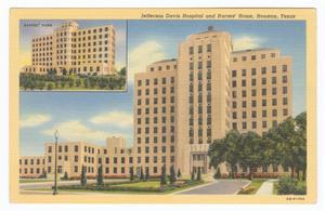[Jefferson Davis Hospital and Nurses' Home]