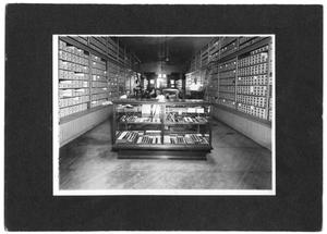 Interior View of Beyette's Shoe Store