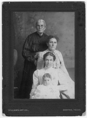 Primary view of object titled 'Four Generations in One Portrait'.
