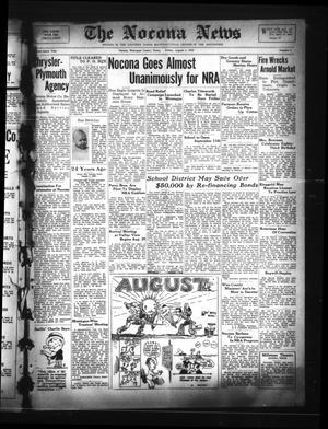 Primary view of The Nocona News (Nocona, Tex.), Vol. 29, No. 8, Ed. 1 Friday, August 4, 1933