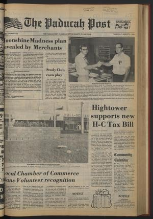 The Paducah Post (Paducah, Tex.), Vol. 75, No. 23, Ed. 1 Thursday, August 6, 1981