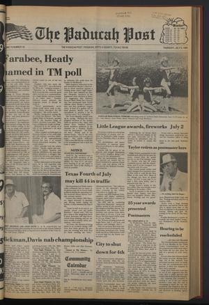 The Paducah Post (Paducah, Tex.), Vol. 75, No. 18, Ed. 1 Thursday, July 2, 1981