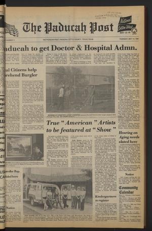 The Paducah Post (Paducah, Tex.), Vol. 75, No. 11, Ed. 1 Thursday, May 14, 1981